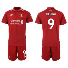 2018-2019 Men club Liverpool home 9 soccer jersey