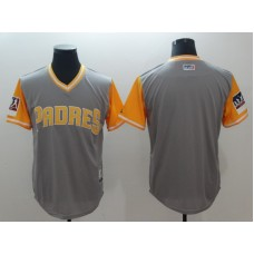 2018 Men San Diego Padres Blank grey New Rush Limited MLB Jerseys
