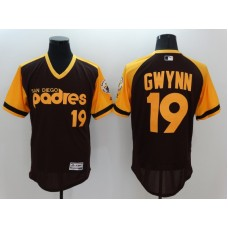 2016 MLB FLEXBASE San Diego Padres 19 Tony Gwynn brown Jerseys 1