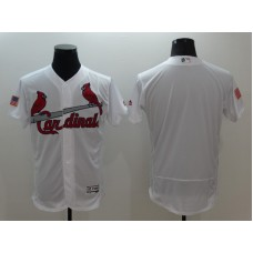 2016 MLB FLEXBASE St. Louis Cardinals Blank White Fashion Jerseys