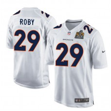 2016 Denver Broncos 29 Roby White youth jerseys