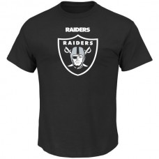 2016 NFL Oakland Raiders Majestic Critical Victory T-Shirt - Black